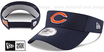 Bears 2017 NFL TRAINING VISOR Navy by New Era