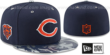Bears '2017 SPOTLIGHT' Fitted Hat by New Era