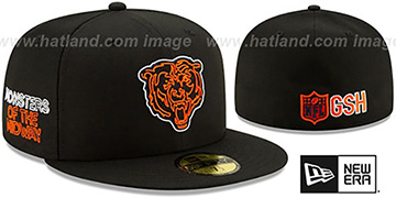 Bears 2020 NFL VIRTUAL DRAFT Black Fitted Hat by New Era