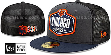 Bears '2021 NFL TRUCKER DRAFT' Fitted Hat by New Era