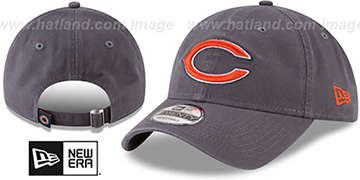 Bears CORE-CLASSIC STRAPBACK Charcoal Hat by New Era