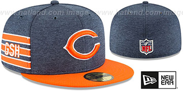 Bears 'HOME ONFIELD STADIUM' Navy-Orange Fitted Hat by New Era