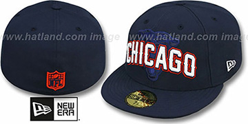 Bears 'NFL ONFIELD DRAFT' Navy Fitted Hat by New Era