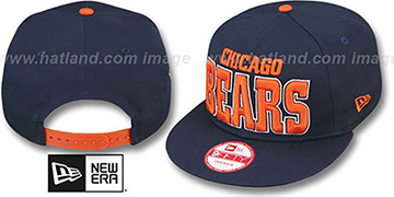 Bears 'NFL SOLID SNAPBACK' Navy Hat by New Era