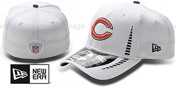 Bears 'NFL TRAINING FLEX' White Hat by New Era