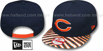 Bears 'NFL ZUBAZ SNAPBACK' Navy Hat by New Era