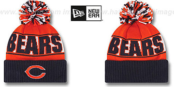 Bears REP-UR-TEAM Knit Beanie Hat by New Era