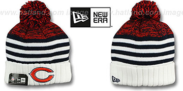 Bears 'SNOWFALL STRIPE' Knit Beanie Hat by New Era