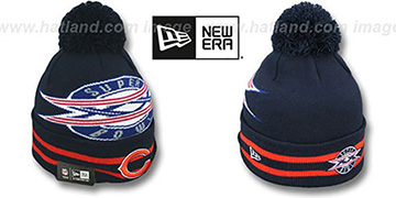 Bears 'SUPER BOWL XX' Navy Knit Beanie Hat by New Era