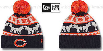 Bears THE-MOOSER Knit Beanie Hat by New Era