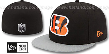 Bengals '2014 NFL DRAFT' Black Fitted Hat by New Era
