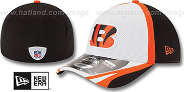 Bengals 2014 NFL TRAINING FLEX White Hat by New Era
