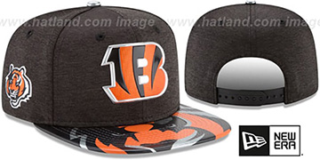 Bengals 2017 NFL ONSTAGE SNAPBACK Hat by New Era