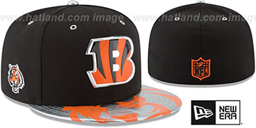 Bengals 2017 SPOTLIGHT Fitted Hat by New Era