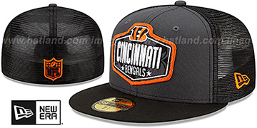 Bengals '2021 NFL TRUCKER DRAFT' Fitted Hat by New Era
