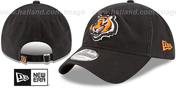 Bengals CORE-CLASSIC STRAPBACK Black Hat by New Era