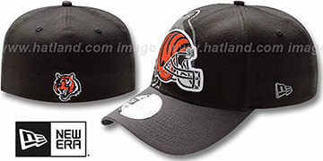 Bengals NFL BLACK-CLASSIC FLEX Hat by New Era