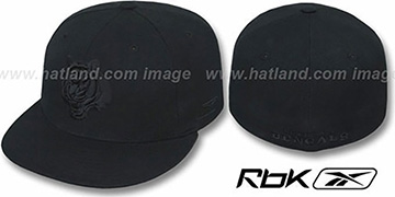 Bengals 'NFL-BLACKOUT' Fitted Hat by Reebok