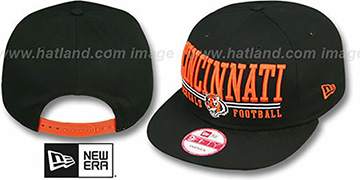 Bengals 'NFL LATERAL SNAPBACK' Black Hat by New Era