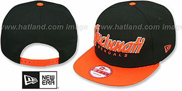 Bengals SNAP-IT-BACK SNAPBACK Black-Orange Hat by New Era