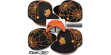 Bengals 'SPIDERWEB' Black Fitted Hat by Reebok