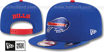 Bills '2015 NFL DRAFT SNAPBACK' Royal Hat by New Era