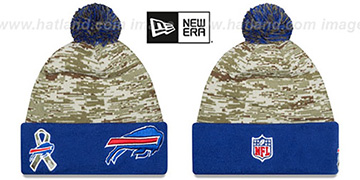 Bills 2015 SALUTE-TO-SERVICE Knit Beanie Hat by New Era