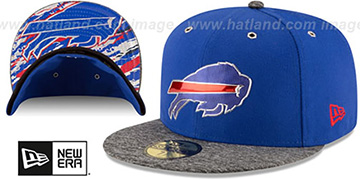 Bills 2016 NFL DRAFT Fitted Hat by New Era