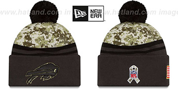 Bills 2016 SALUTE-TO-SERVICE Knit Beanie Hat by New Era