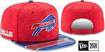 Bills 2017 NFL ONSTAGE SNAPBACK Hat by New Era