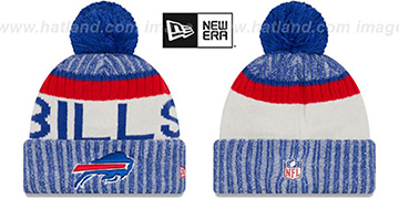 Bills '2017 STADIUM BEANIE' Royal Knit Hat by New Era