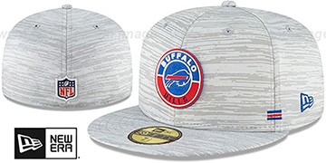 Bills '2020 ONFIELD STADIUM' Heather Grey Fitted Hat by New Era