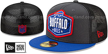 Bills '2021 NFL TRUCKER DRAFT' Fitted Hat by New Era