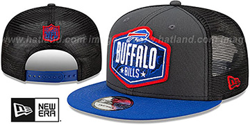 Bills '2021 NFL TRUCKER DRAFT SNAPBACK' Hat by New Era