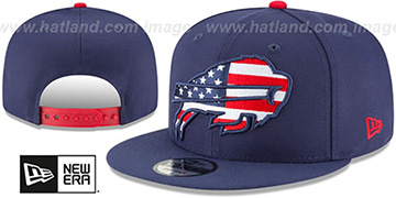 Bills 'FLAG FILL INSIDER SNAPBACK' Navy Hat by New Era