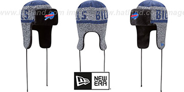 Bills FROSTWORK TRAPPER Royal Knit Hat by New Era