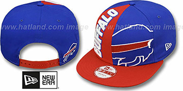 Bills NE-NC DOUBLE COVERAGE SNAPBACK Hat by New Era