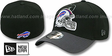 Bills NFL BLACK-CLASSIC FLEX Hat by New Era