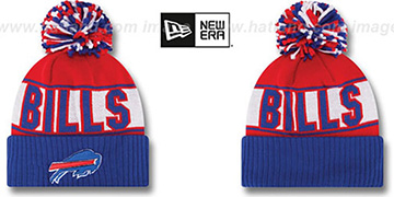 Bills 'REP-UR-TEAM' Knit Beanie Hat by New Era