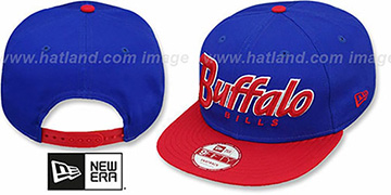 Bills SNAP-IT-BACK SNAPBACK Royal-Red Hat by New Era