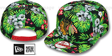 Blackhawks 'BLOOM SNAPBACK' Hat by New Era