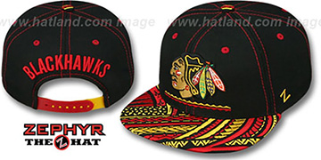 Blackhawks 'KONA SNAPBACK' Hat by Zephyr