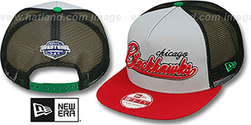 Blackhawks MARK-MESH A-FRAME SNAPBACK Hat by New Era