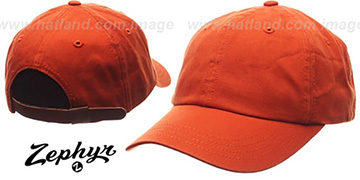 Blank 'DADDY STRAPBACK' Burnt Orange Hat Zephyr