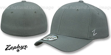 Blank 'DH PEWTER' Fitted Hat by Zephyr