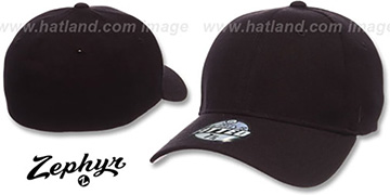 Blank 'Z-FIT BLACK' Hat by Zephyr