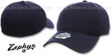 Blank 'Z-FIT NAVY' Hat by Zephyr