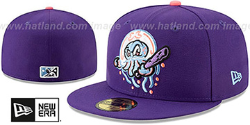 Blue Claws 'COPA' Purple Fitted Hat by New Era