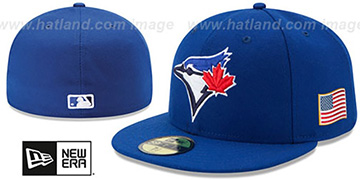 Blue Jays '2015 STARS-N-STRIPES 911 GAME' Hat by New Era