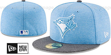 Blue Jays 2017 FATHERS DAY Fitted Hat by New Era